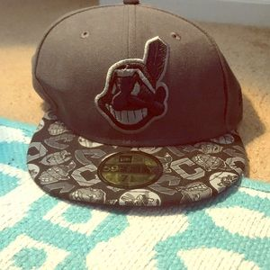 Cleveland Indians fitted baseball cap